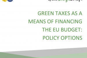 Green taxes as a means of financing the EU budget: policy options