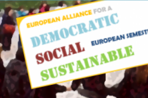 The AGS behind, the Semester ahead: What proposals to make Europe 2020 more social, democratic and sustainable?