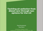 Tax diesel cars based on air pollution
