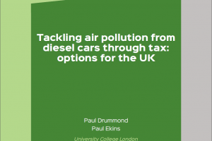 Tackling air pollution from diesel cars through tax: options for the UK