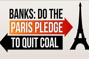 Banks: do the Paris Pledge